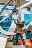 Скульптура искусства Illumina Стоковая Фотография