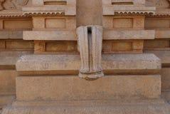 Скульптура каменного водопроводного крана Стоковые Изображения RF