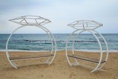скульптура кольца с бриллиантом Стоковое Изображение