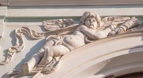 Скульптура купидона стоковое изображение rf