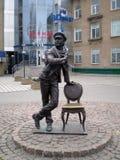 Скульптура к советскому персонажу стоковые фото
