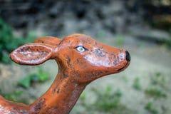 Скульптура маленькой овечки Стоковые Фотографии RF