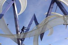 Скульптура металла Стоковое Изображение
