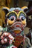 Скульптура мозаики собаки Стоковые Изображения RF