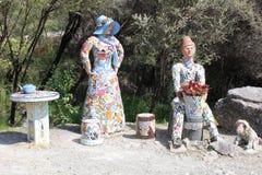 Скульптура мозаики Стоковые Фото