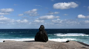 Скульптура морем в Bondi Стоковые Изображения RF