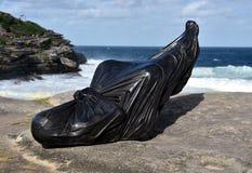 Скульптура морем в Bondi Стоковое фото RF