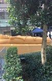 Скульптура мумии, мир квадратный Сидней песка Стоковое Изображение RF