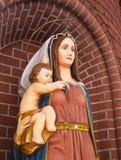 Скульптура нашей дамы Стоковые Изображения