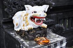 Скульптура на балийском виске Стоковое Изображение RF