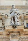 Скульптура на Лувре, Париж, Франция Стоковое Изображение RF