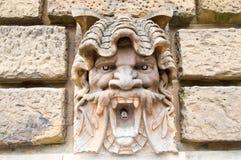 Скульптура на стене на водонапорной башни в Мангейме Стоковые Фото