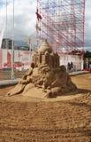 Скульптура Омар Khayyam песка Стоковые Фотографии RF