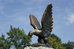 Скульптура орла в Pyatigorsk Стоковые Изображения