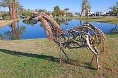 Скульптура лошади Стоковые Фотографии RF