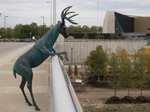 Скульптура оленей стоковая фотография
