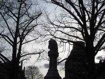 Скульптура памятника/доброго самаритянина эфира, сквер Бостона, Бостон, Массачусетс, США стоковые изображения