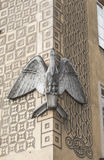 Скульптура пеликана Стоковое фото RF