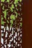 Скульптура прокалыванная металлом Стоковые Фото