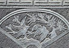 Скульптура птиц сороки Стоковое Изображение RF
