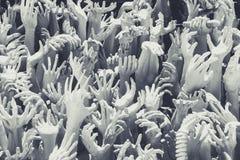 Скульптура руки страсти Стоковые Изображения