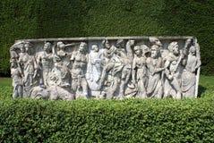 Скульптура сада в изгороди коробки Стоковое Изображение RF