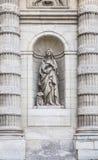 Скульптура Святого Genevieve Стоковое Фото