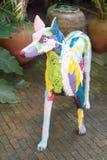 Скульптура собаки искусство Стоковая Фотография