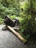 Скульптура собаки Стоковые Фотографии RF