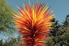 Скульптура стекла Дейл Chihuly стоковое фото rf