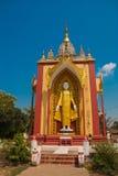 Скульптура 4 стоя Buddhas Bago Myanma Бирма стоковая фотография rf