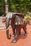 Скульптура слона стоковое фото