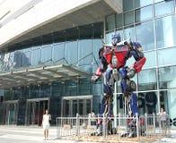 Скульптура трансформаторов Стоковое Изображение RF