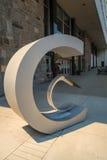 Скульптура университета Concordia стоковые изображения