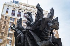 Скульптура холокоста Стоковые Изображения