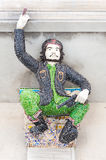 Скульптура Че Гевара на Wat Pariwat, Бангкоке Стоковые Изображения RF