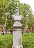 Скульптура Christoph Frankopan (1884) в Загребе, Хорватии Стоковая Фотография