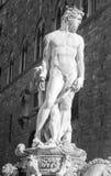 Скульптура davut Флоренса благоустраивает Европу стоковые фотографии rf