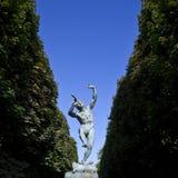 Скульптура Faune Dansant в Jardin du Люксембурге Стоковая Фотография RF