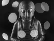 Скульптура Ksitigarbha Стоковые Изображения