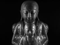 Скульптура Ksitigarbha Стоковая Фотография