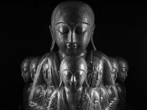Скульптура Ksitigarbha Стоковые Фотографии RF