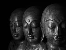 Скульптура Ksitigarbha Стоковое Изображение