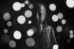 Скульптура Ksitigarbha Стоковое фото RF