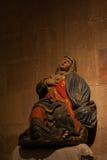 Скульптура Mary Стоковое Изображение