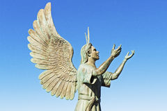 Скульптура Puerto Vallarta Malecon Стоковое Изображение RF