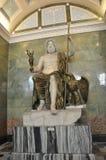 Скульптура ` s Зевса в Hall Юпитера Стоковое Изображение RF