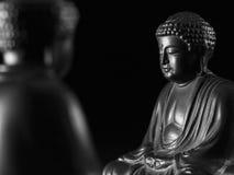 Скульптура Sakyamuni Будды Стоковая Фотография RF