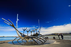 Скульптура Solfar Suncraft Стоковое Изображение