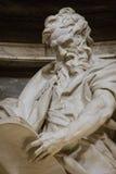 Скульптура St Matthew стоковая фотография rf